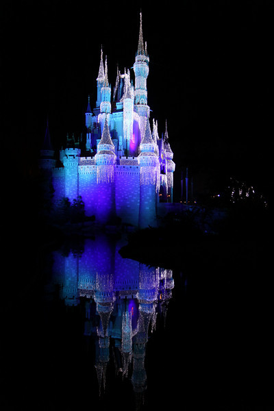 Castle at night - Cool reflection!